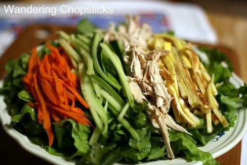 Jaengban Gooksu (Korean Cold Buckwheat Noodle Salad) 3