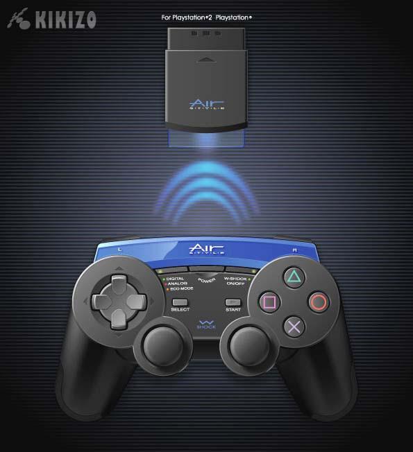 Kikizo | News: PS2 Wireless Controller Revealed