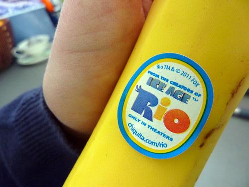 advertising banana