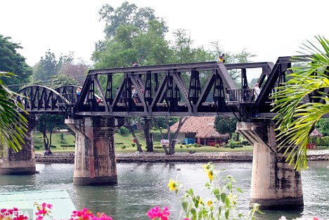 The Bridge on the River Kwai as it is today