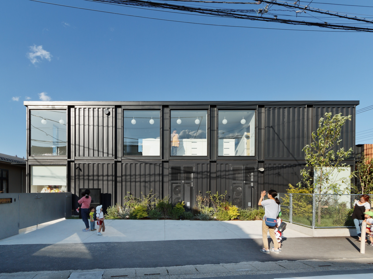 OA Kindergarten, located in Saitama, Japan, is nearly earthquake-proof. It's made almost entirely of shipping containers to make the school as stable as possible.