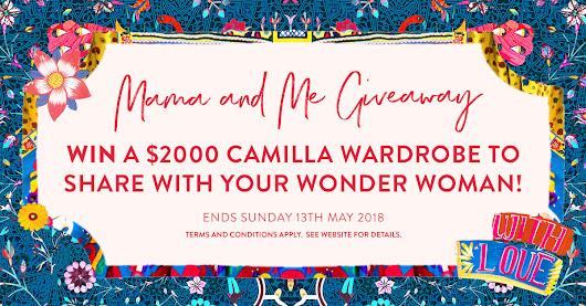 Camilla Mama and Me Giveaway