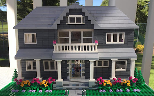 Get a Detailed LEGO Model of Your Own House – So Cool!