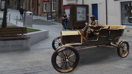 Ben Nevis Ford Model T sculpture to be made - BBC News