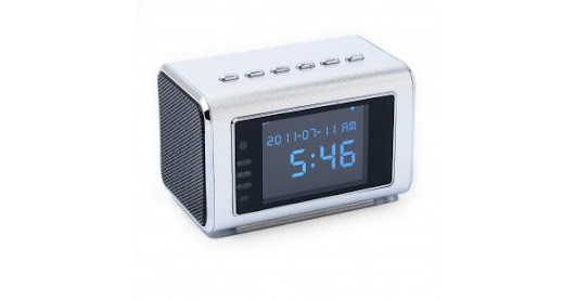 MVS02 Spy Clock Radio