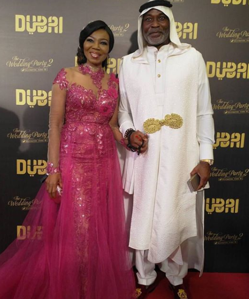 Official Photos!! Mo Abudu, Banky W, RMD, Patience Ozokwor, Lai Mohammed, Adesua, Betty Irabor, Iretiola Doyle, others at the premiere of Wedding Party 2