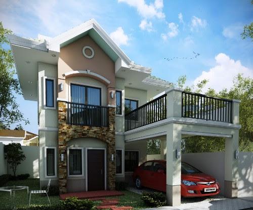 Rumah Idaman 2 Lantai dengan Balkon Multi Fungsi