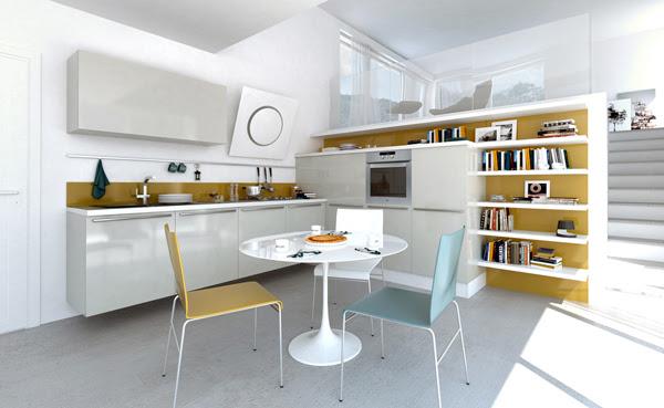 Open Plan Kitchen Designs | InteriorHolic.