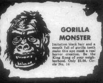 gorilla monster