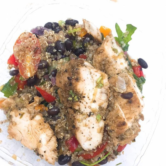 Work Lunch: The Healthy Salad Company · Foodie in Lagos