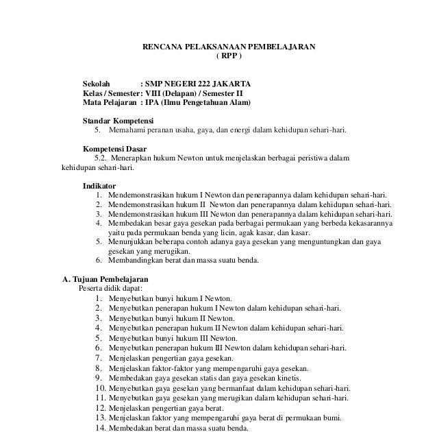 Contoh Soal Hukum Newton 1 Tentang Gerak Kabar Click