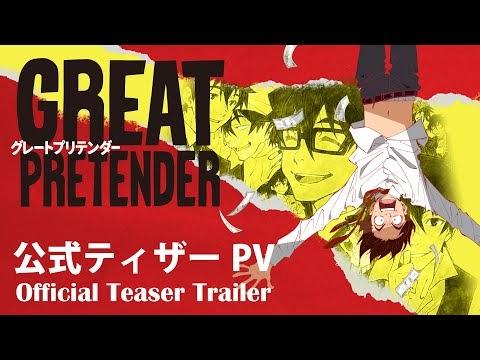 Trailer del anime Great Pretender