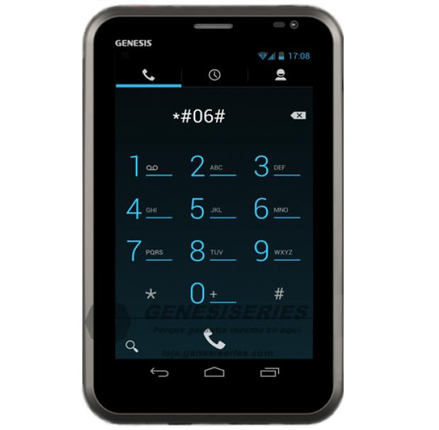 Tablet Genesis GT-7245 (Foto: Divulgação/Genesis)
