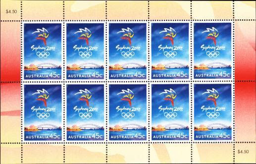 Sydney 2000 Olympic Symbol