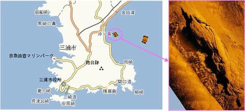 神奈川県三浦半島 サバ根 海底写真 釣りナビくん