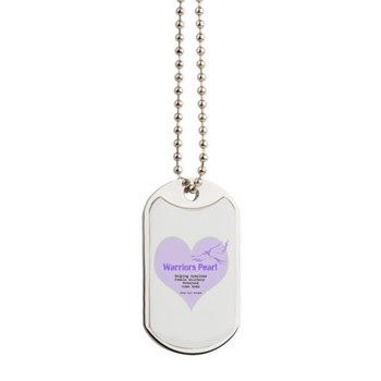 Warriors Pearl Dog Tags
