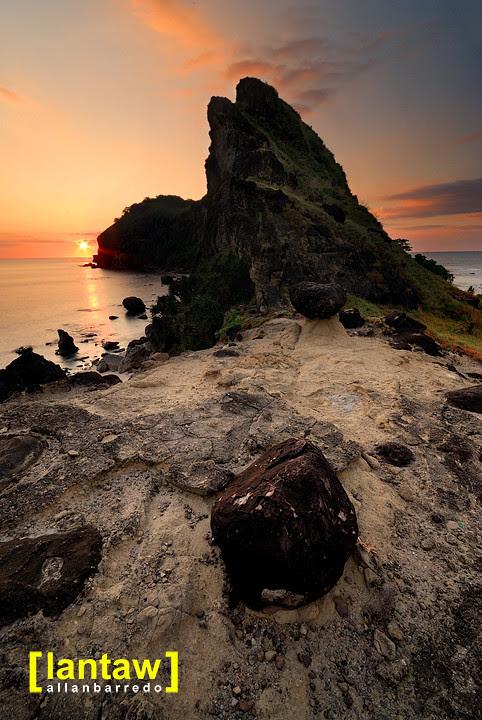 Capones Rock Garden Sunset