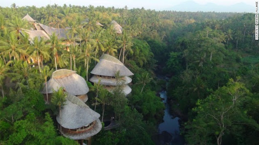 Bali's spectacular bamboo village sets new heights for barefoot luxury