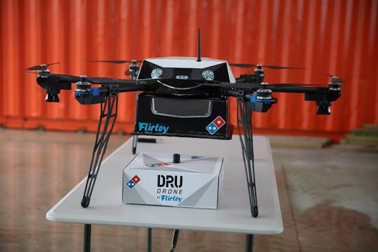 Pizza by drone - unmanned air delivery set to take off in New Zealand
