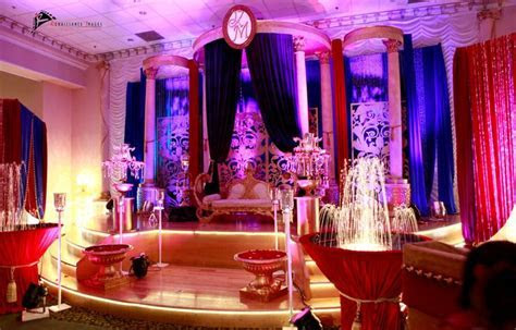 Beauty and the beast theme wedding decor with Arabic Art