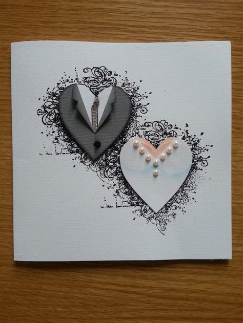 25  best ideas about Wedding cards handmade on Pinterest