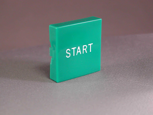 "000175 Plastic Button only ""START"""