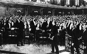 I delegati del primo Congresso Sionista