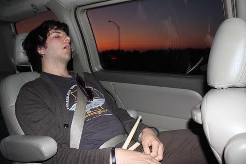 Québec Jour 1 - dormant drummer.