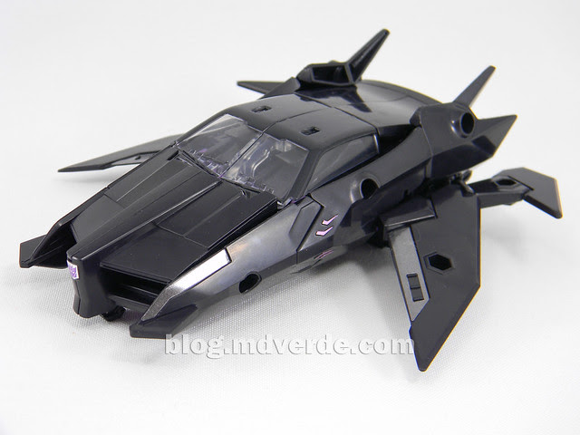 Transformers Jet Vehicon Deluxe - Prime Arms Micron - modo alterno