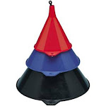 Plews & Lubrimatic 75-075 Funnel Plastic 3pc Set