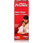 Children's Tylenol Oral Suspension, Cherry 4 Fl. Oz.