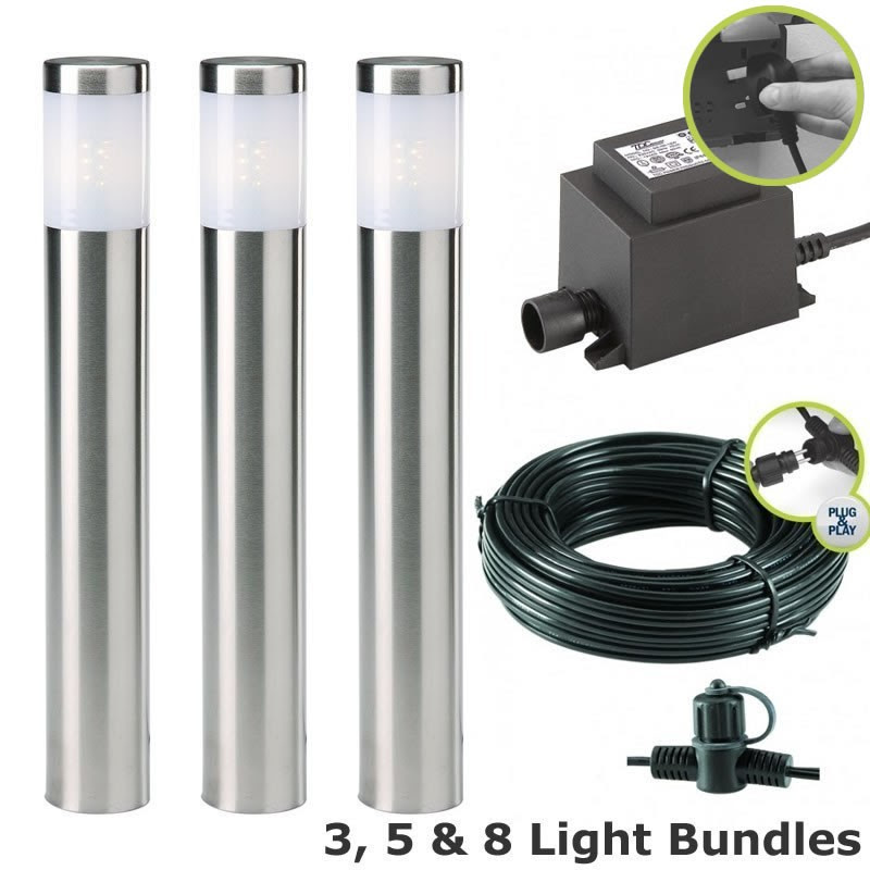 Techmar Albus Garden LED Post Light Kit