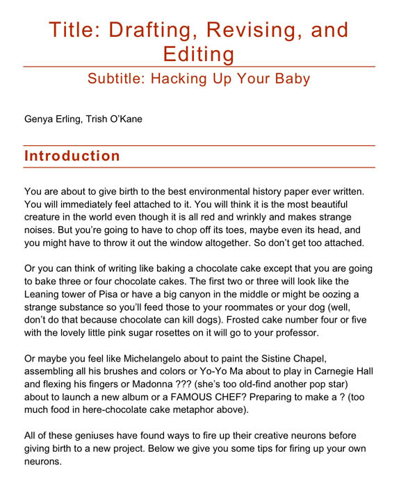 how to write an introduction for an essay college
