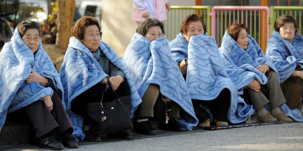 Terremoto en Japón  - Espera tras la sacudida