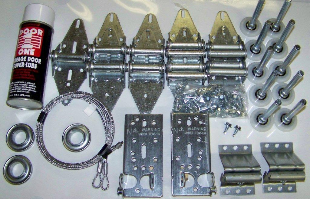 Garage Door Kit >> Garage Garage Door Hardware Kit Tune Up Kit
