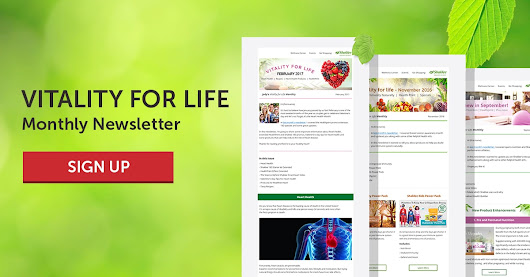 Vitality for Life Monthly Newsletter