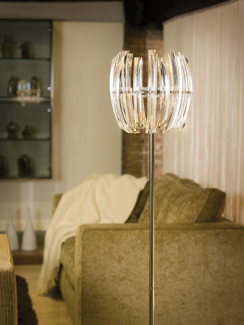 Eglo 89208A Drifter Chrome Floor Lamp - contemporary - floor lamps ...