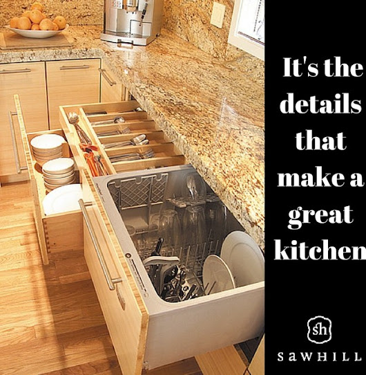 Specialty Features for a Dream Kitchen