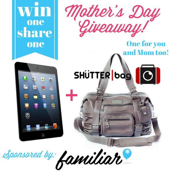 Giveaway | iPad Mini Prize Bundle for Mother & Daughter