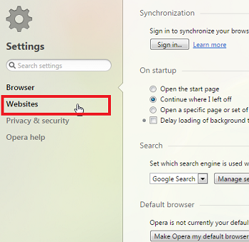 Disable Adobe Flash Player In Chrome, Firefox And Opera