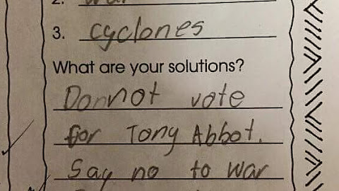 My friend's 9 year old son's homework