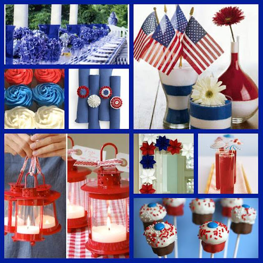 Super Easy and Amazing 4th of July Decorations Ideas