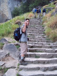 Stairs to Top of Vernal Falls