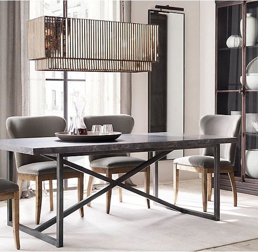 10 Narrow Dining Tables For a Small Dining Room | Modern ...