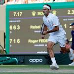 TENNIS. Wimbledon : Federer au pied de l'histoire et de la montagne Djokovic