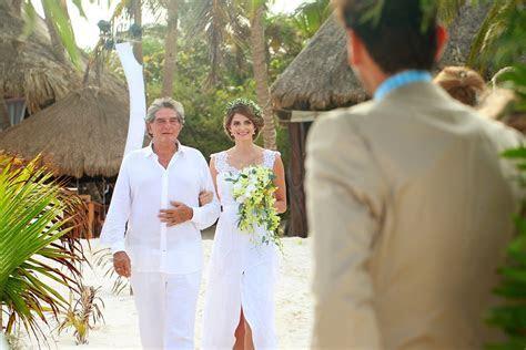 Tulum Wedding at Akiin Beach Club   Michelle and William