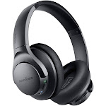 Anker Soundcore Life Q20 Hybrid Active Noise Cancelling Headphones, Black