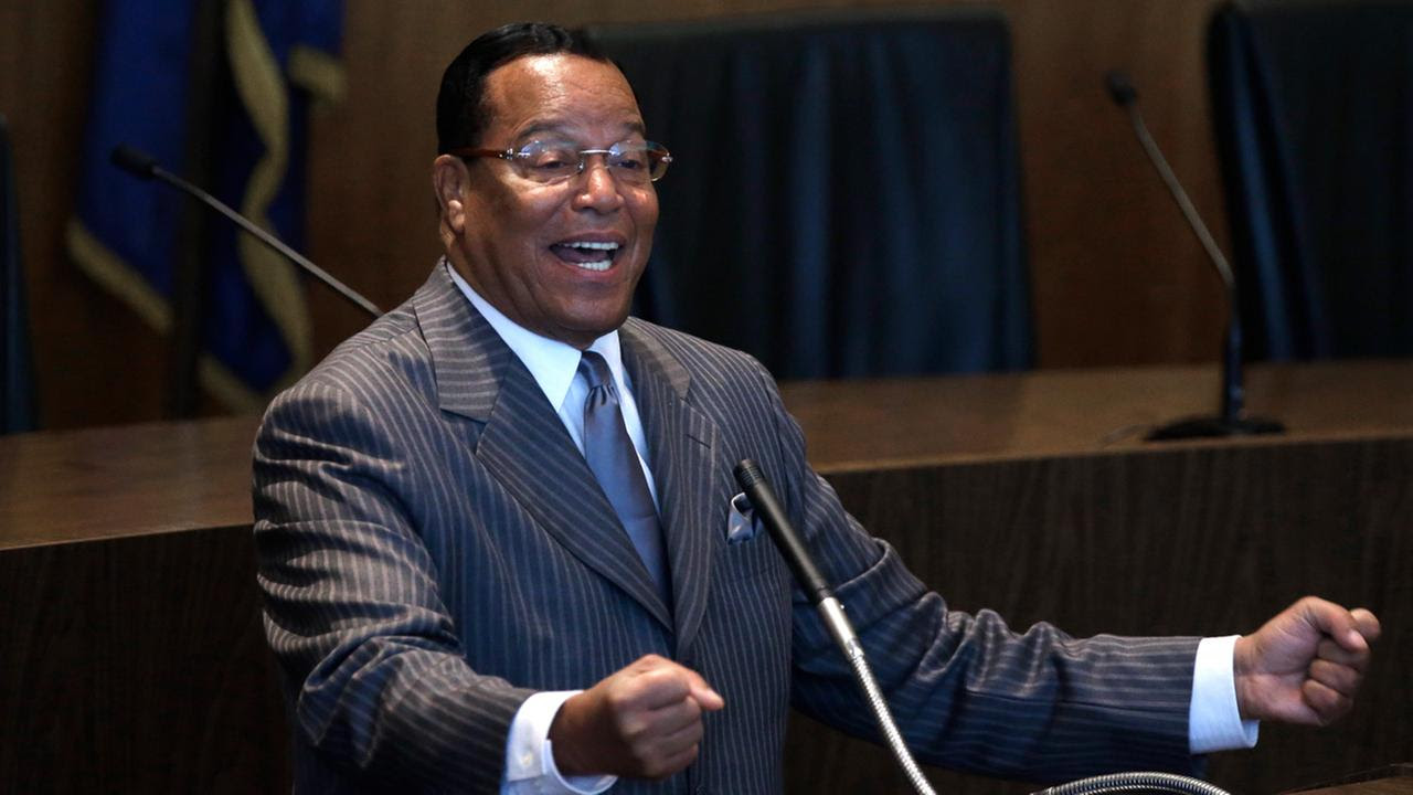 Image result for FARRAKHAN SEES A NEW OPENING FOR BLACK SEPARATIST MESSAGE