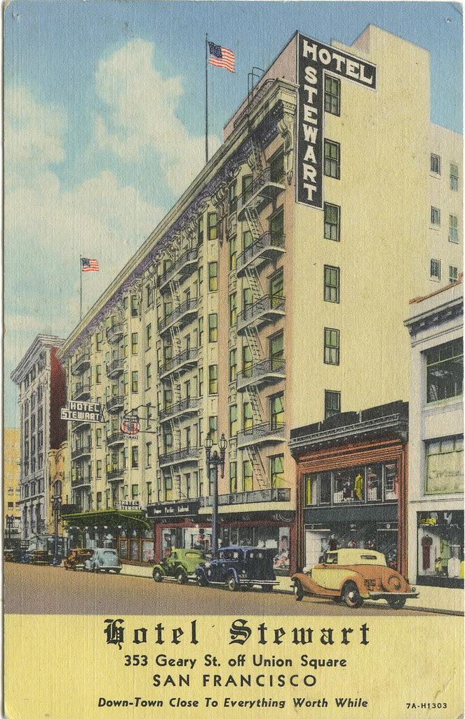 Hotel Stewart_Geary Street_SF_tatteredandlost