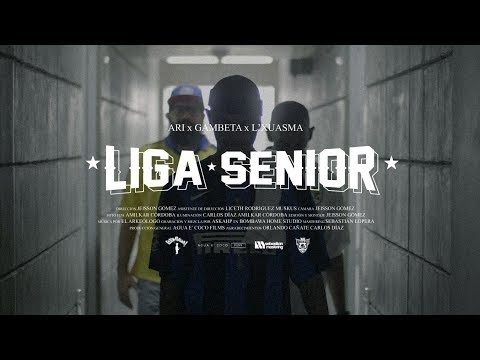 Ari feat. Gambeta & L'Xuasma - Liga Senior (Video) 2019 [Colombia]